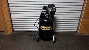 Lot  45  Black Max Direct Drive Air Compressor 5hp