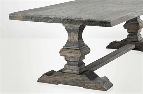 Bja Le De Table Table De Ferme Gris Bois Gris Cendré Table Bois Table