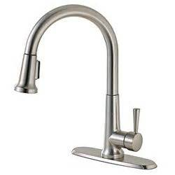 canadian tire kitchen faucets canadian tire peerless pull kitchen faucet brushed nickel customer reviews product