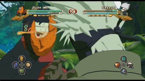 pc naruto ultimate ninja storm  full burst obito