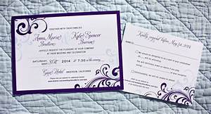 wedding invitations templates purple and blue matik for With royal blue and lavender wedding invitations