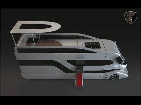 wheels futuristic rvs packed luxury interior design