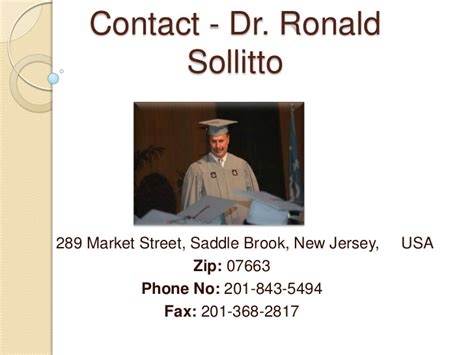 Ronald Sollitto by Dr Ronald Sollitto Dpm