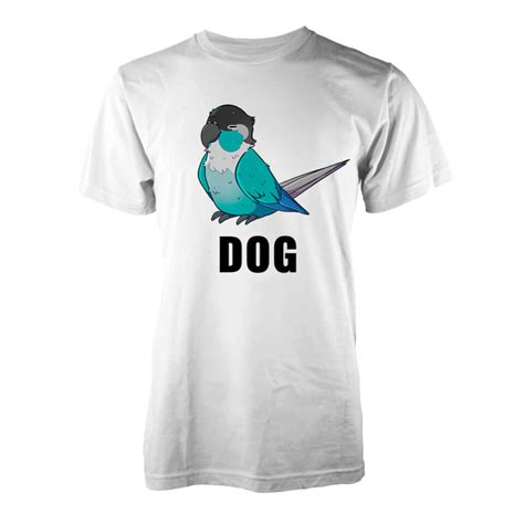 Jaiden Dog T Shirt   White   IWOOT