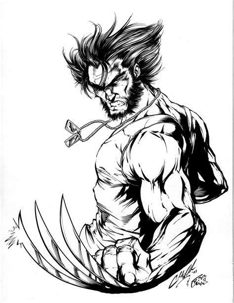 Wolverine By Inkerguy On Deviantart