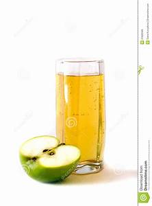 Glass Of Juice And Apple Royalty Free Stock Image - Image ...