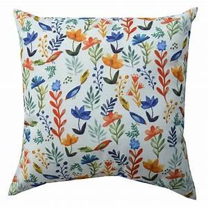 Mainstays, Decorative, Throw, Pillow, Bird, Floral, 18, U0026quot, 1pc, Round, -, Walmart, Com