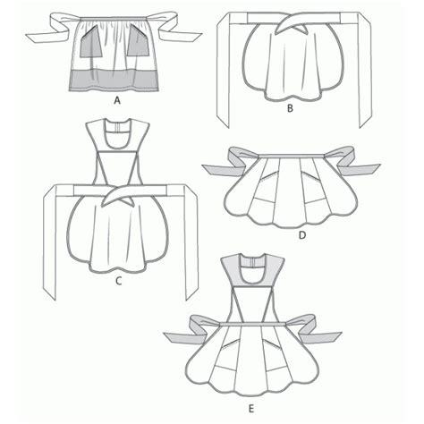 patron tablier cuisine modèle couture tablier