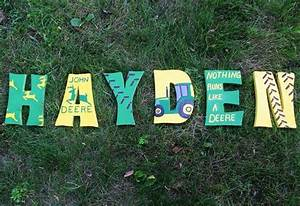 hey i found this really awesome etsy listing at http With john deere wooden letters