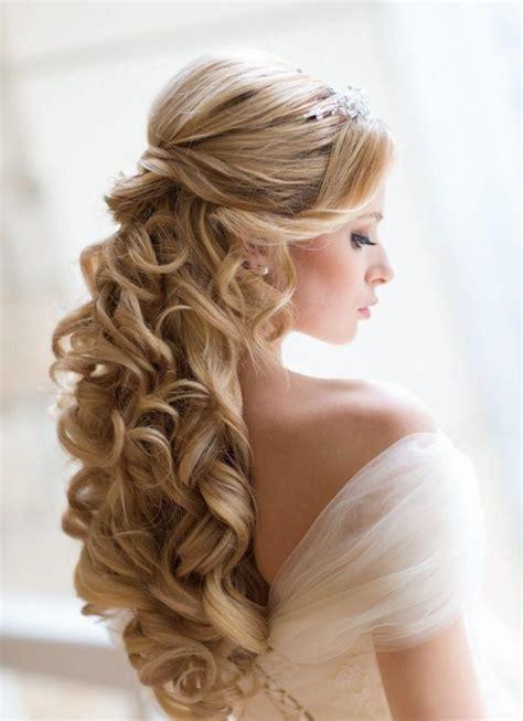 acconciature da sposa  capelli lunghi  idee