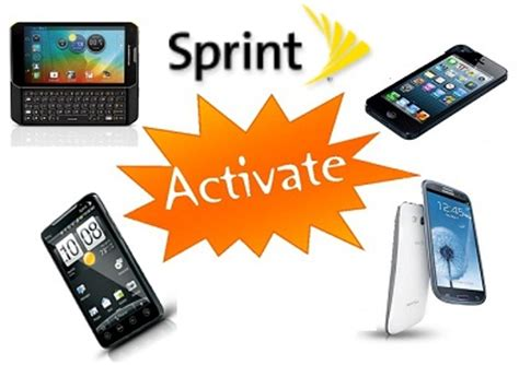 sprint activation phone number sprint activate site to activate any sprint device