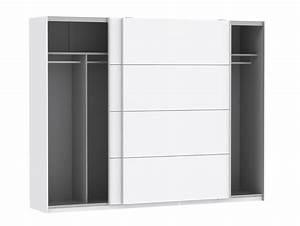 Schwebetürenschrank Weiß Hochglanz : silent schwebet renschrank weiss hochglanz 270 cm ~ Orissabook.com Haus und Dekorationen