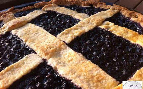 tarte aux myrtilles la recette blueberry