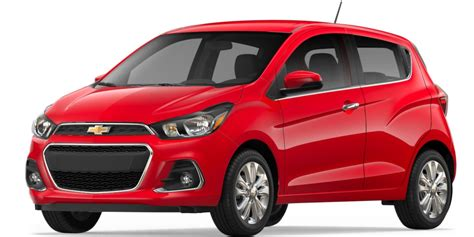 2018 Spark City Car  Subcompact Car Chevrolet