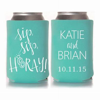 Koozies Personalized Favors Beach Designs Fall Stubby