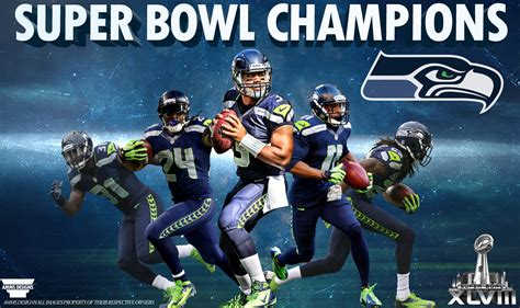 seahawks super bowl  champions poster  ammsdesings