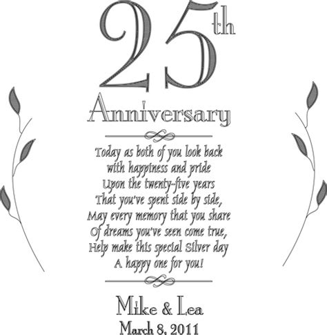 personalized platter wedding gift personalized plate 25th silver anniversary keepsake plate