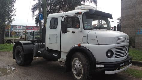 mercedes benz    turbo tractor impecable