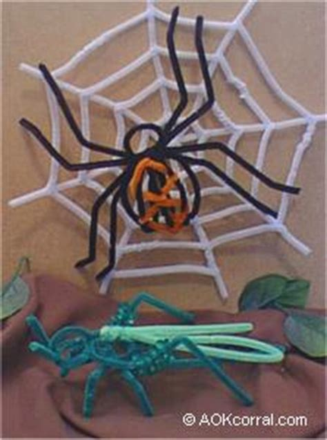 pipe cleaner bugs craft project