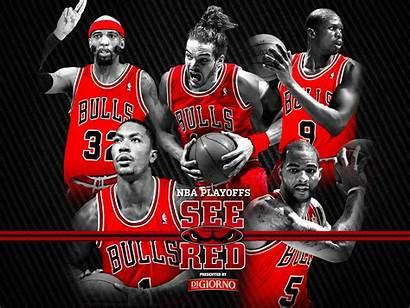 Bulls Nba Chicago Team Playoffs Retina Ipad