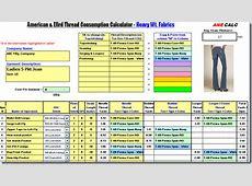 Download Denim Thread Consumption And Thread Cost Garment