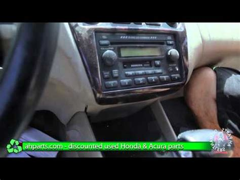 2002 Acura Tl Radio Code by How To Change Replace Install Radio Navigation Screen 1999