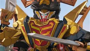 Claw Armor Megazord Debut Fight (Power Rangers Super ...
