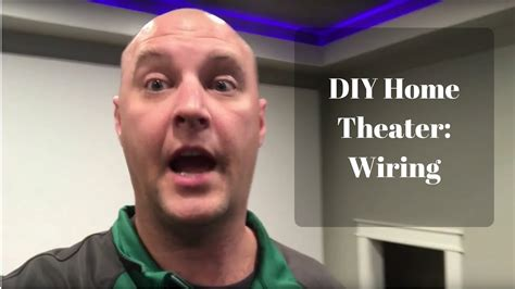 Diy Basement Home Theater Movie Room Part Wiring