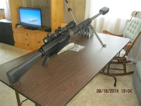 Cobb 50 Bmg by Wts Or Cobb 50 Bmg Now Bushmaster Like New 4000