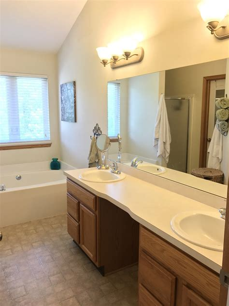 master  modern farmhouse bathroom