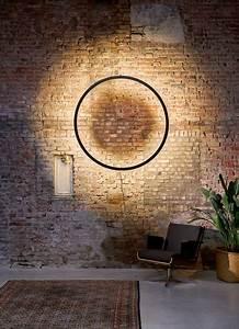 Framed Suspension Lamp Circle