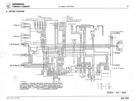 Honda Goldwing Wiring Diagram For 2012 by Index Of Publicdocs Cb900c Manual