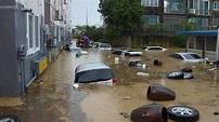 韓國暴雨1個月狂淹水 非軍事區7km柵欄流失 地雷遭沖走|東森新聞