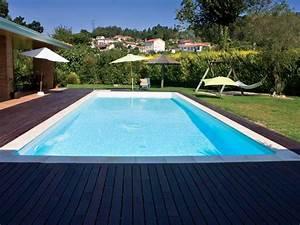 Piscine Enterrée Rectangulaire : piscine jardin images et photos arts et voyages ~ Farleysfitness.com Idées de Décoration
