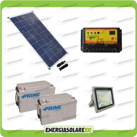 kit illuminazione fotovoltaico kit fotovoltaico per illuminazione esterni pannello solare