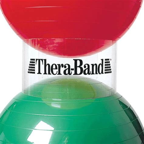 thera band exercise ball stacker exercise balls