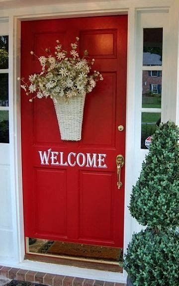 welcoming red door pictures   images
