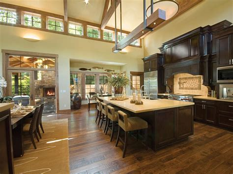 house plans with big kitchens hardwood flooring in the kitchen hgtv