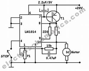 dc motor speed controller circuit With ac motor speed controller circuit dc drill speed controller circuit dc