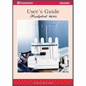 Instruction Manual  Viking Huskylock 910   Sewing Parts Online
