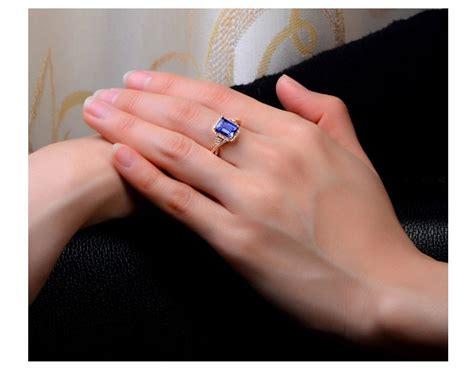 beautiful  carat blue sapphire  diamond engagement