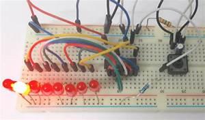 Binary Counter Circuit Diagram Using Ic 74hct4040