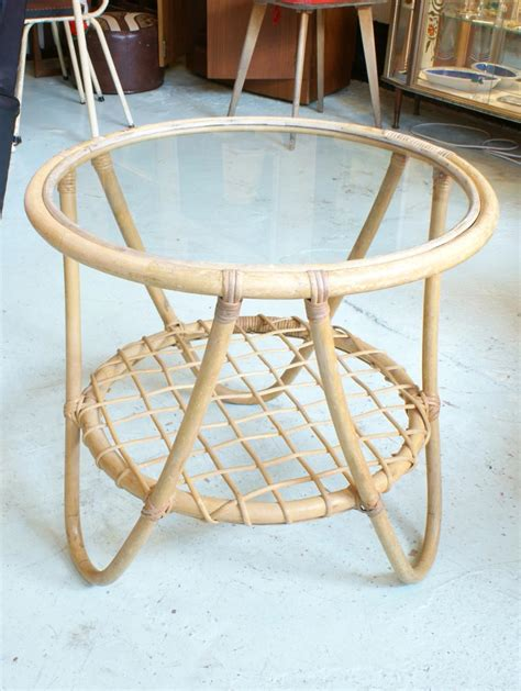 Round Bamboo Coffee Table  Coffee Table Design Ideas
