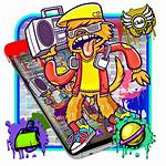 Graffiti Hiphop App Launcher Apps Any
