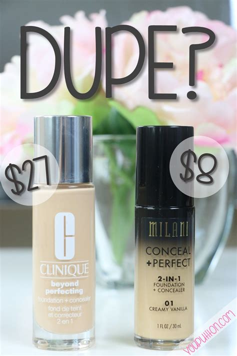dupe milani conceal perfect clinique