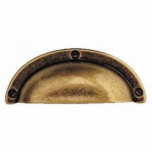 Poignée Coquille Noire : poign e coquille zamak couleur bronze bosetti bricozor ~ Teatrodelosmanantiales.com Idées de Décoration