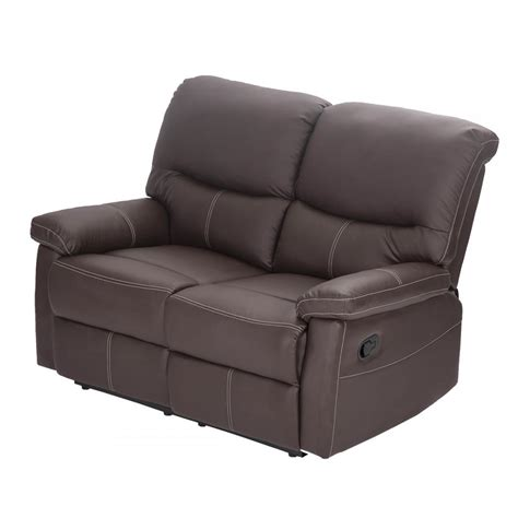 Chaise Loveseat by Loveseat Chaise Recliner Sofa Chair Leather Accent