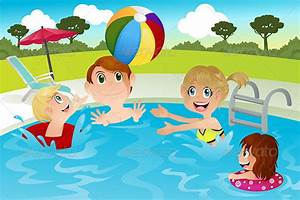 Family in Swimming Pool by artisticco | GraphicRiver
