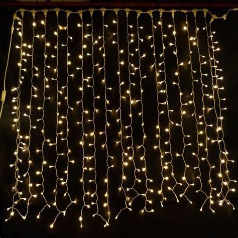 solar led curtain lights warm white led curtain light 2m x 1 5m connectable 380