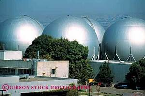air storage tanks NASA Ames California Stock Photo 2233